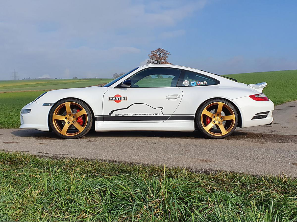 Porsche 911 Carrera S Rinspeed weiss 2006