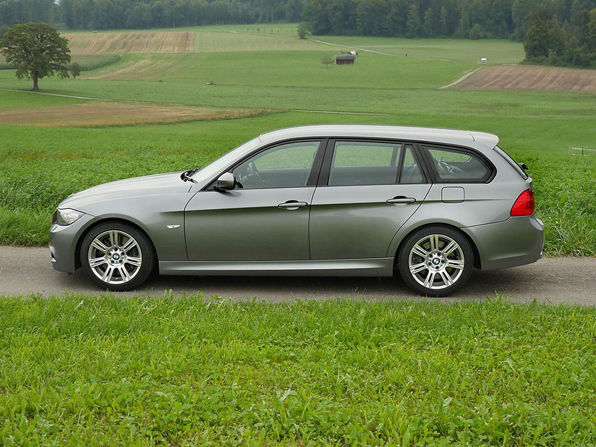 BMW 335i Touring 2011 schiefergrau