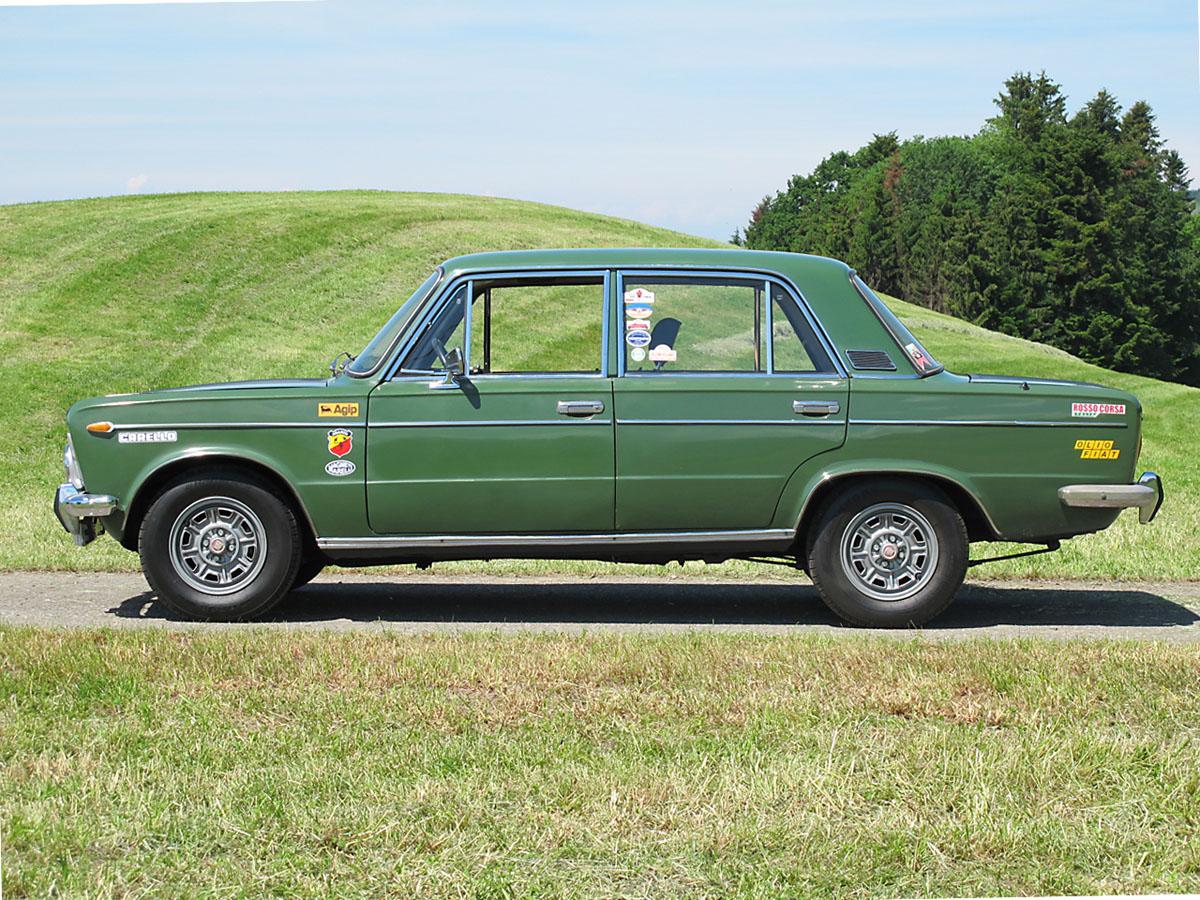 Fiat 125 S Rallye grün 1969
