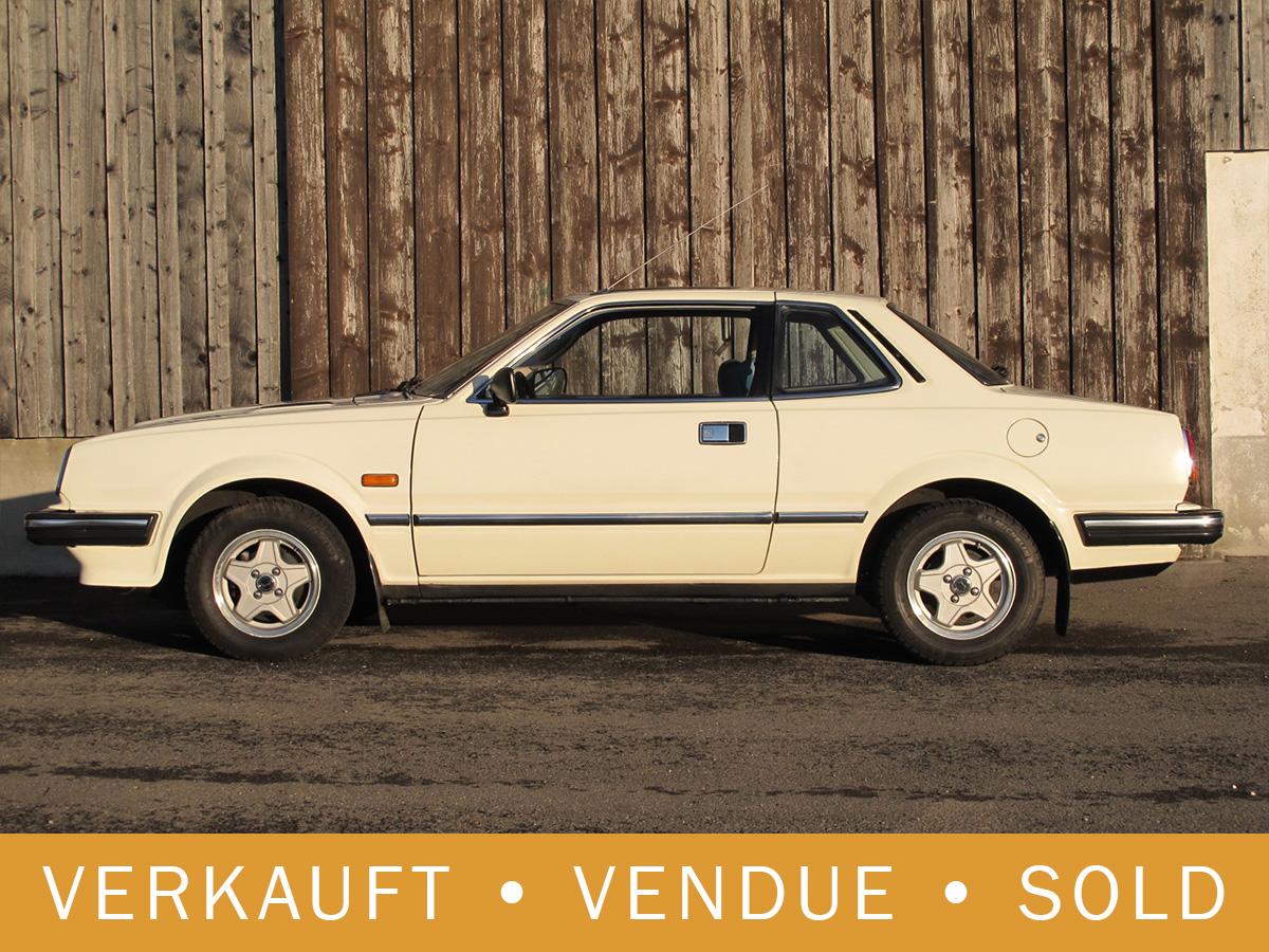 Honda Prelude 1.6 Coupé weiss 1981