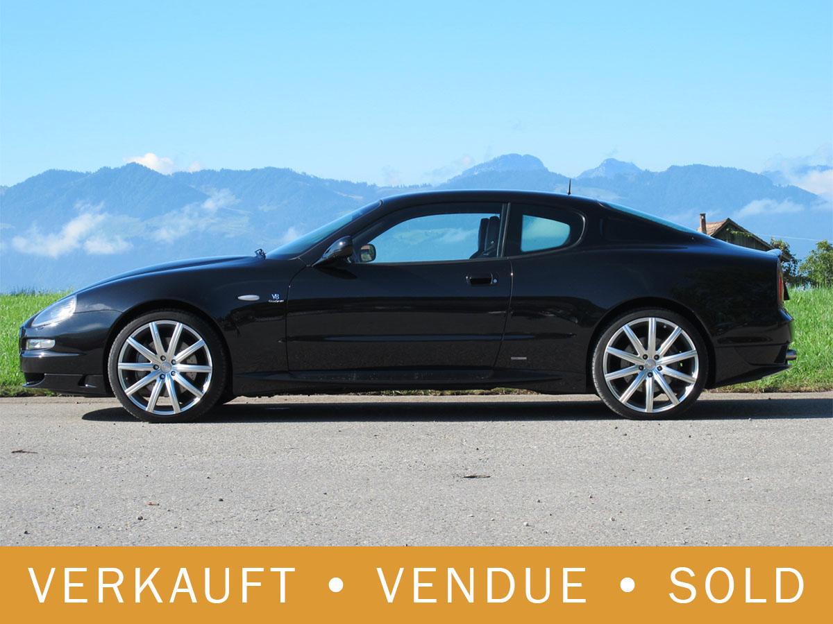 Maserati Grandsport V8 Coupé schwarz 2007