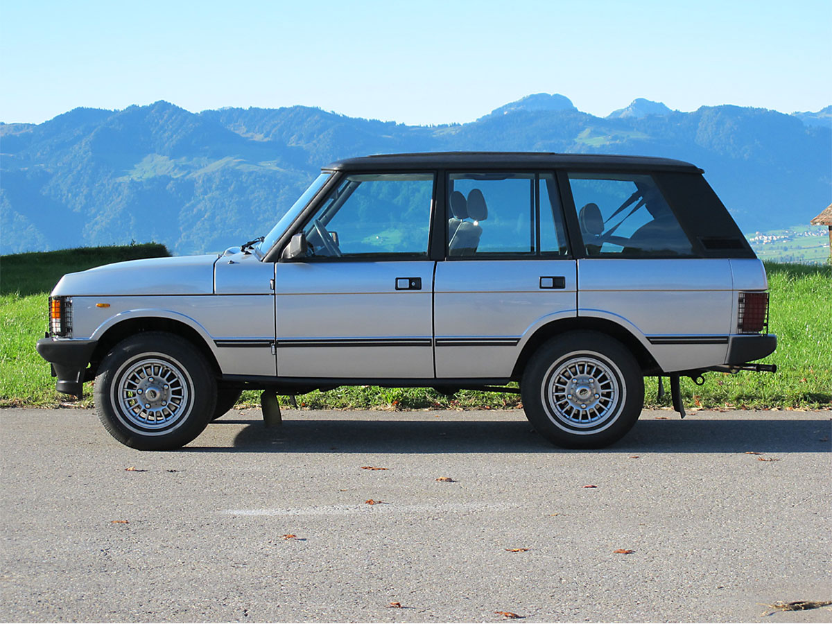 Range Rover 3.5 Injection silber 1986