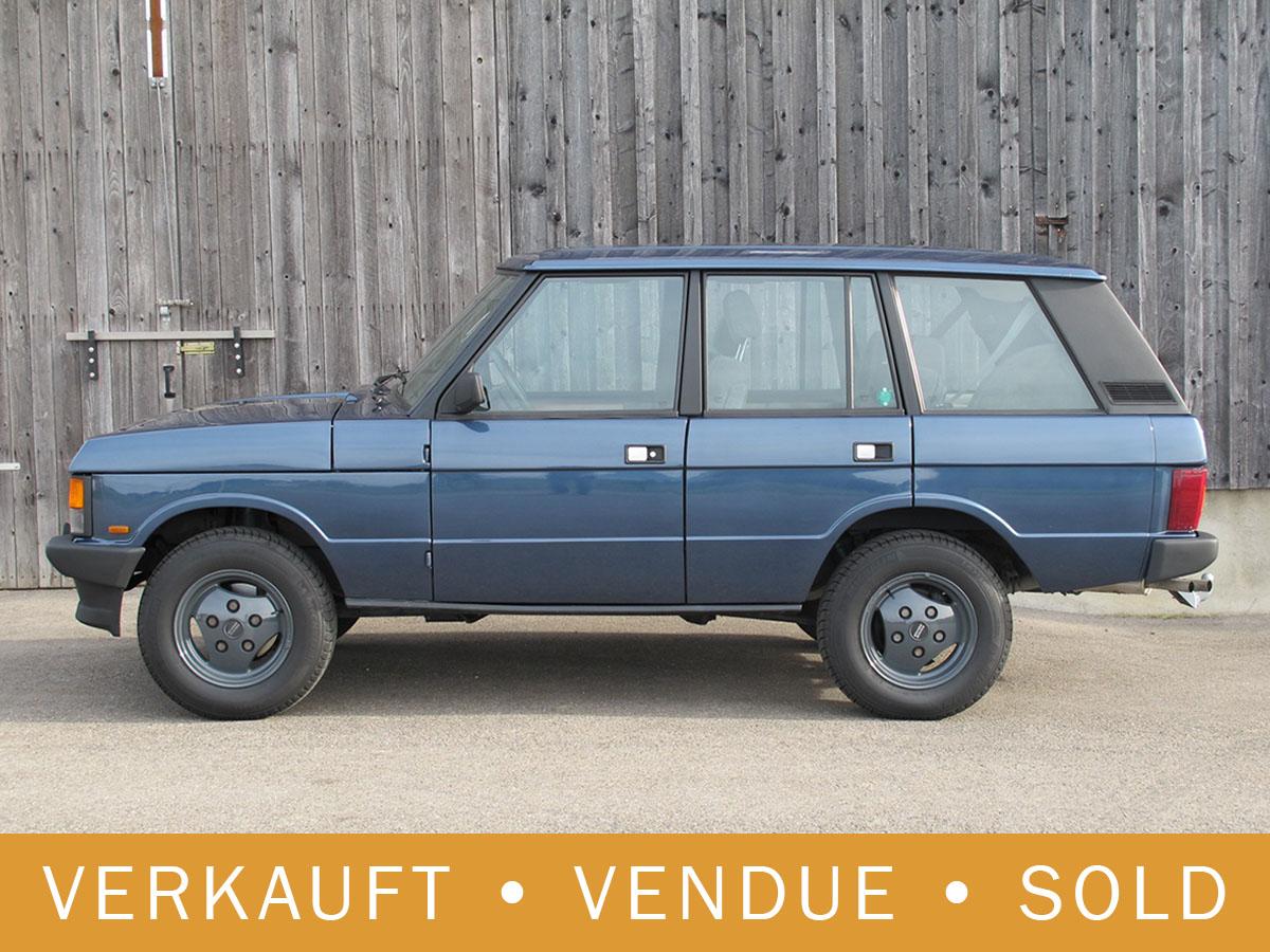 Range Rover Classic 3.5 blau 1992