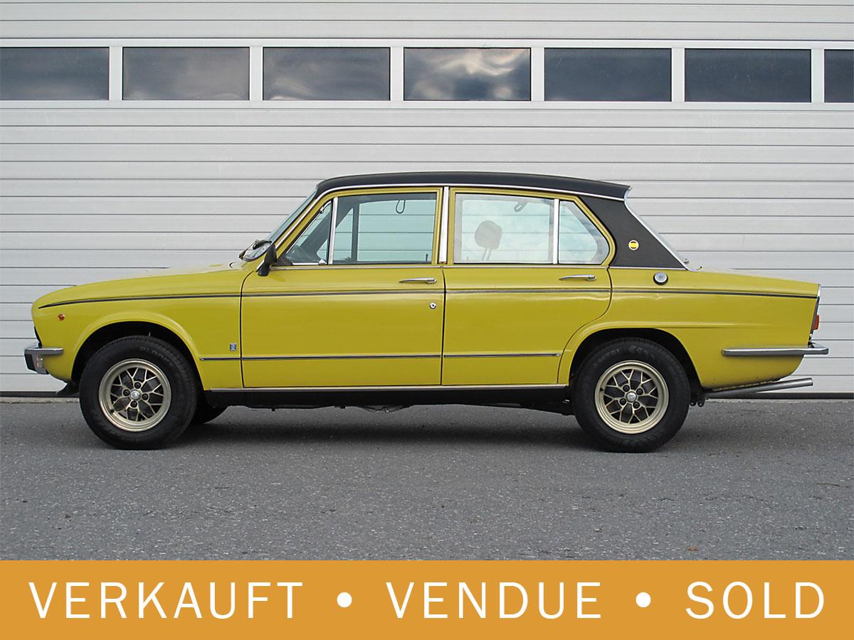 Triumph Dolomite Sprint 16V gelb 1976