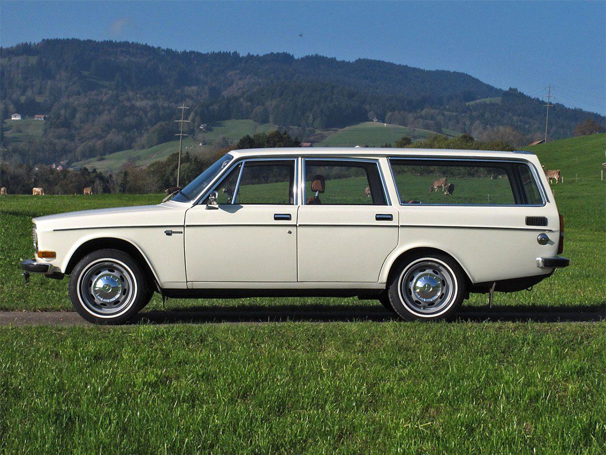 Volvo 145 Kombi weiss 1972