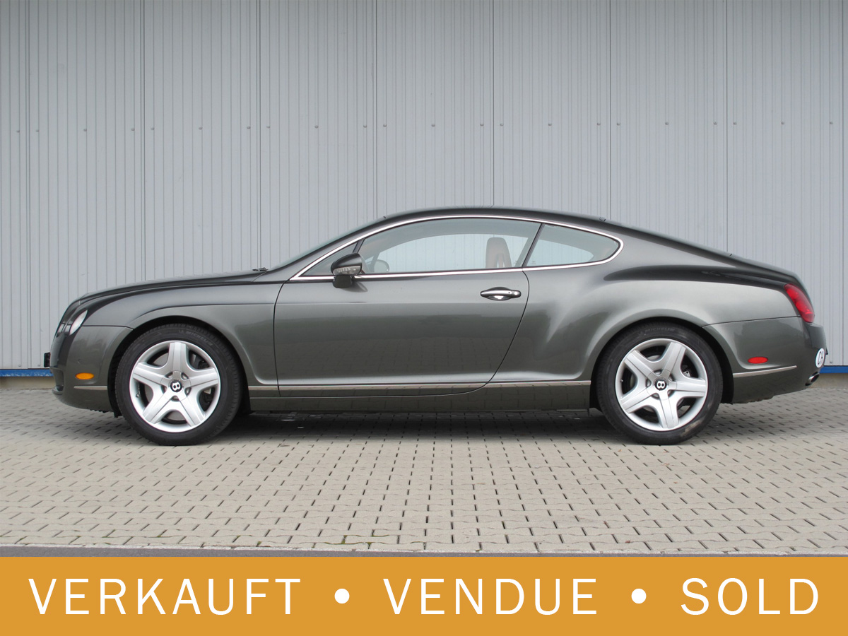 Bentley Continental GT 6.0 anthrazit 2004