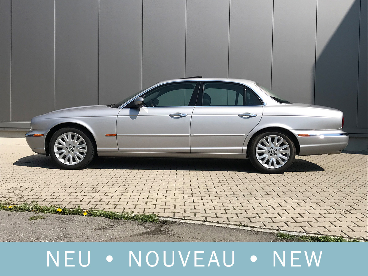 Jaguar XJ8 3.5 V8 Executive silber 2004