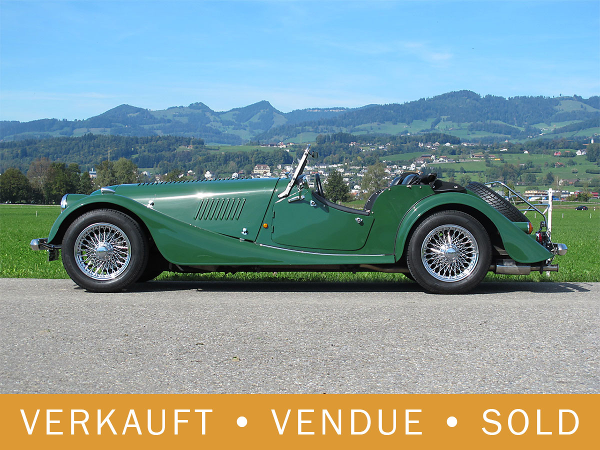 Morgan Plus 8 Roadster 4.0 dunkelgrün 1992
