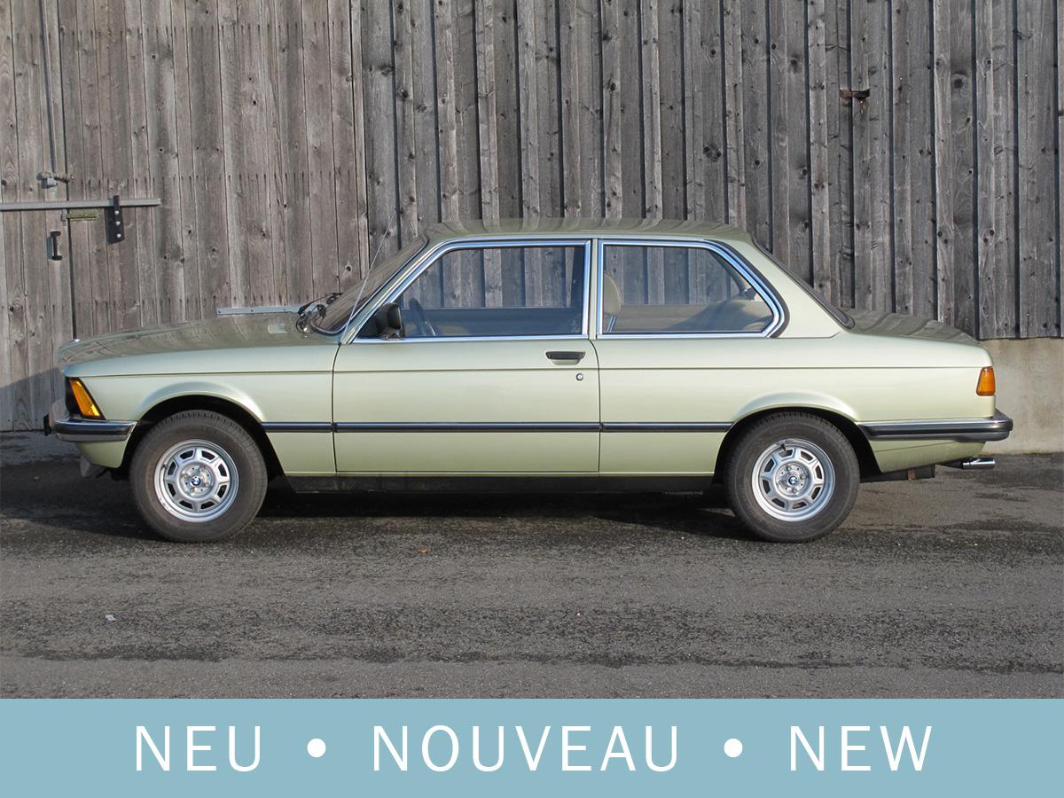 BMW 316 Coupé E21 grün 1980