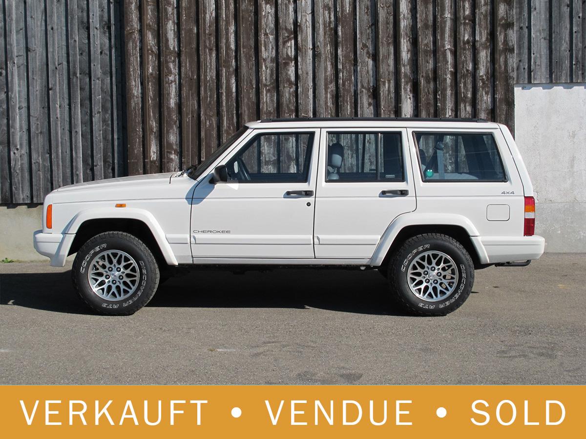 Jeep Cherokee 4.0 LTD weiss 1997