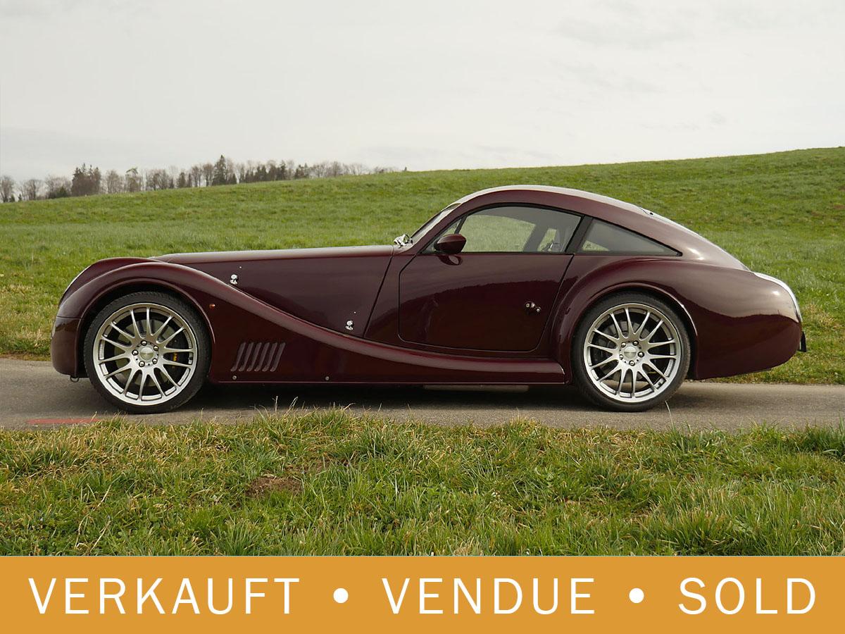 Morgan Aeromax 4.8 Liter V8 burgundy 2010