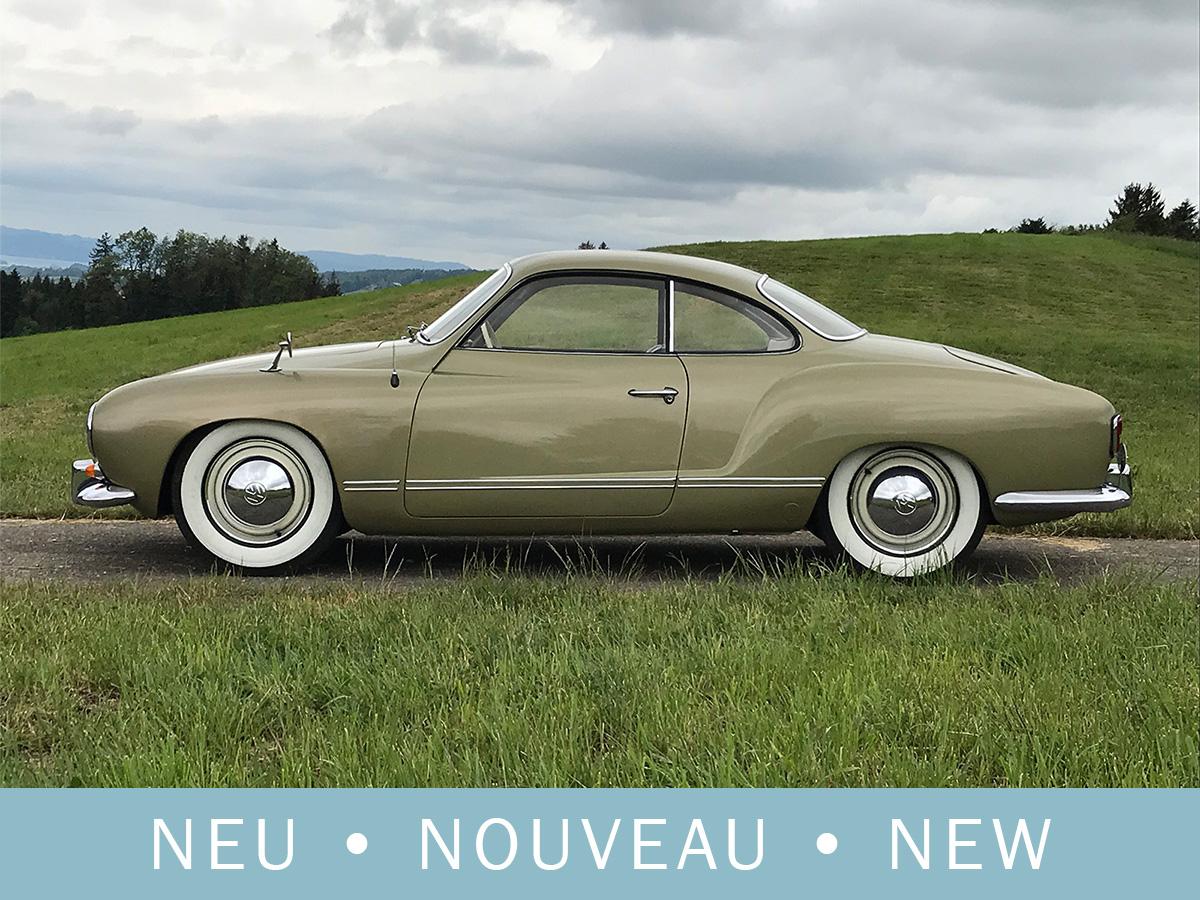 VW Karmann Coupé grün 1956