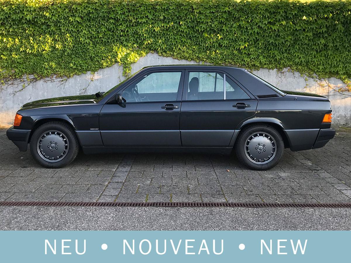 Mercedes Benz 190 E 2.3 schwarz 1991