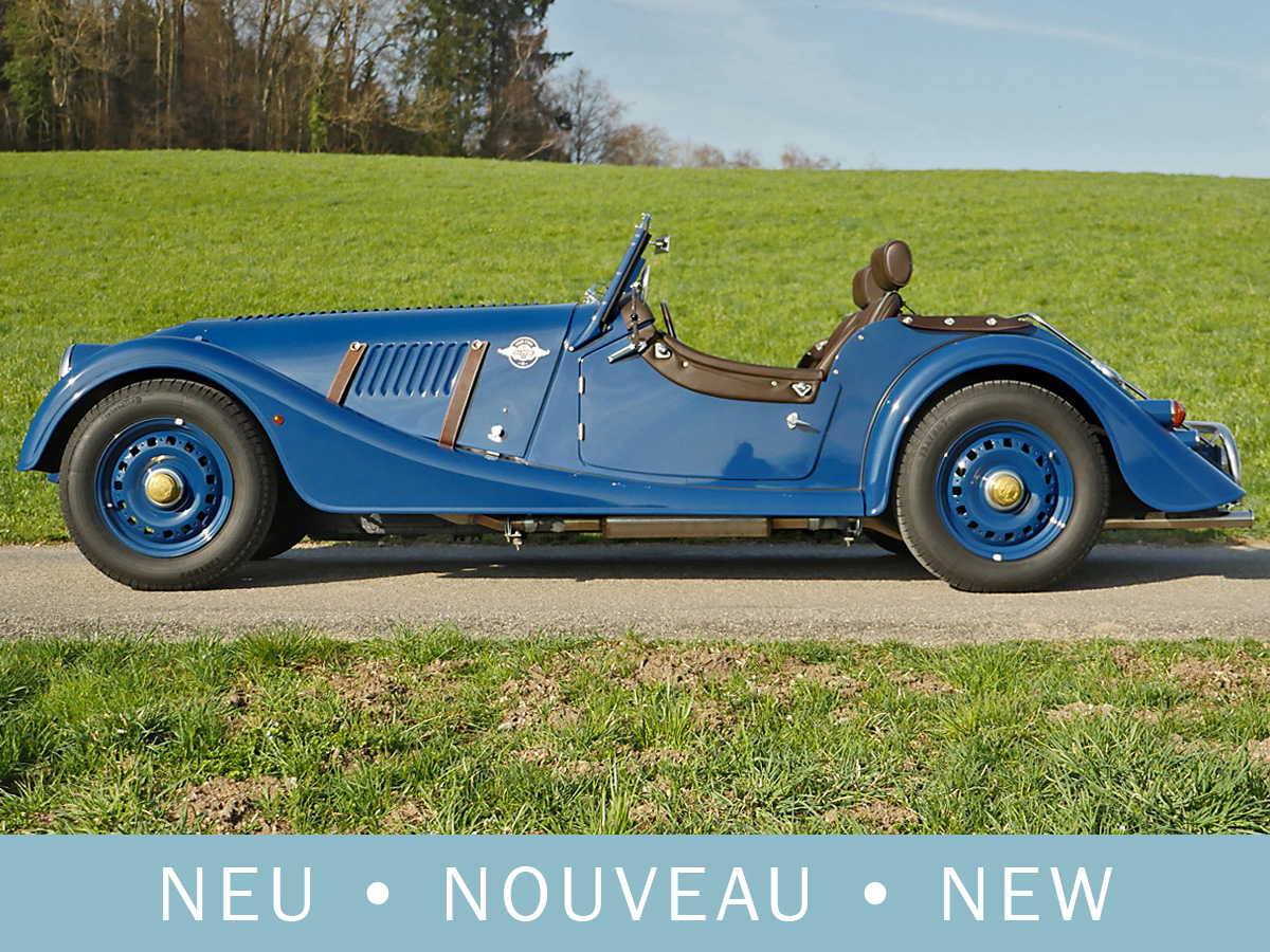 Morgan 4/4 Eighties Anniversary blau 2016