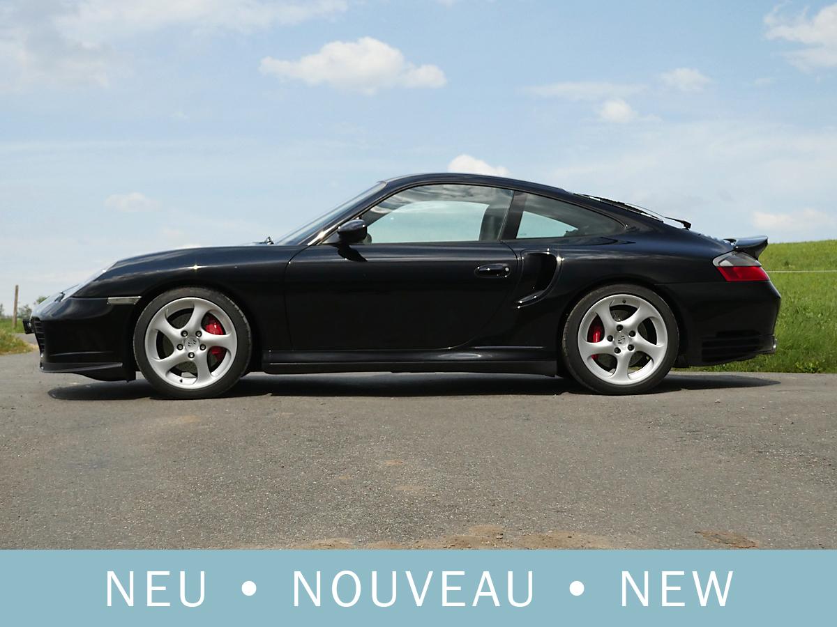 Porsche 911 996 Turbo schwarz 2002