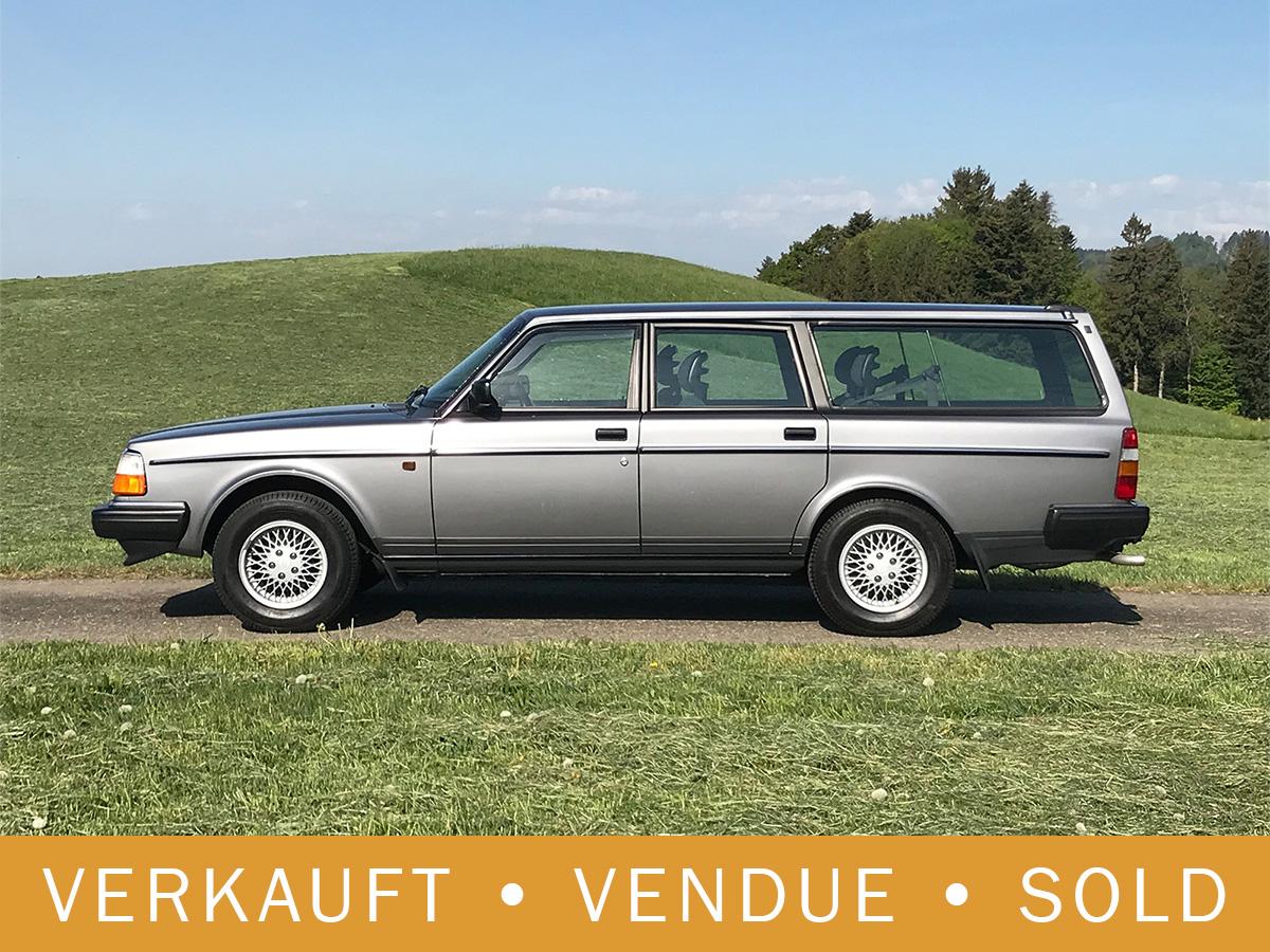 Volvo 240 Classic Kombi 5-Gang dunkelgrau 1992
