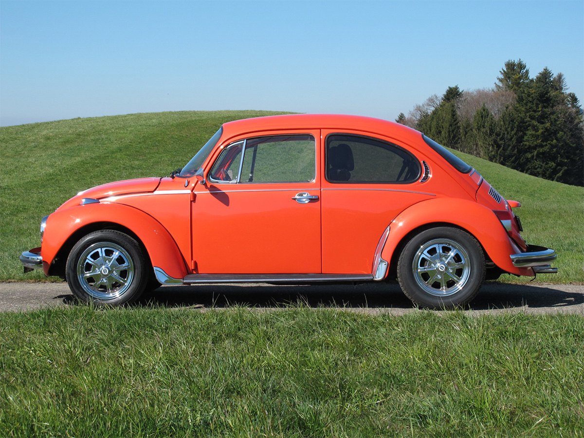 VW Käfer 1303 L orange 1973