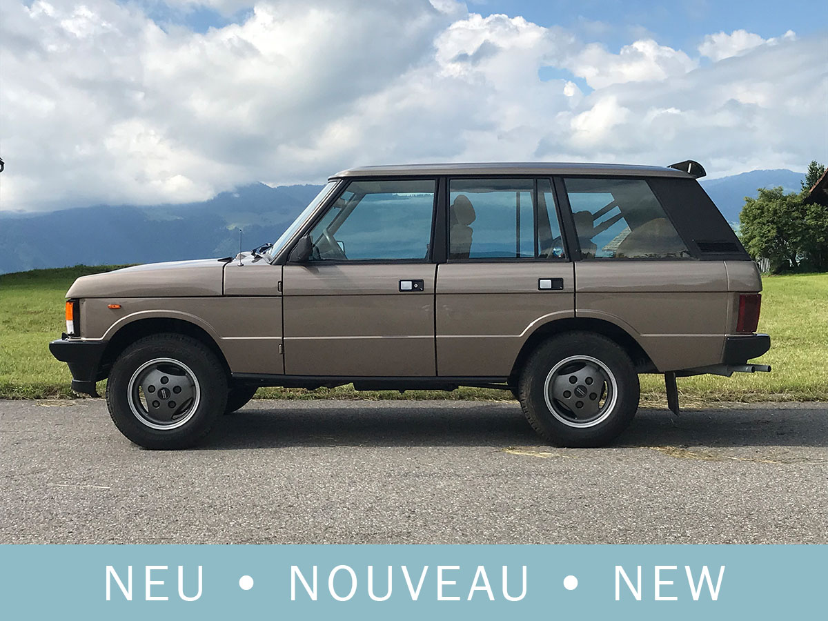 Range Rover Classic 3.5 Liter Injection braun metallic 1986
