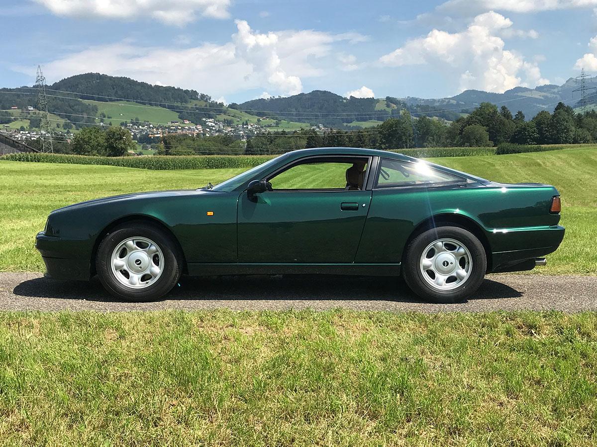 Aston Martin Virage V8 Coupé dunkelgrün 1990