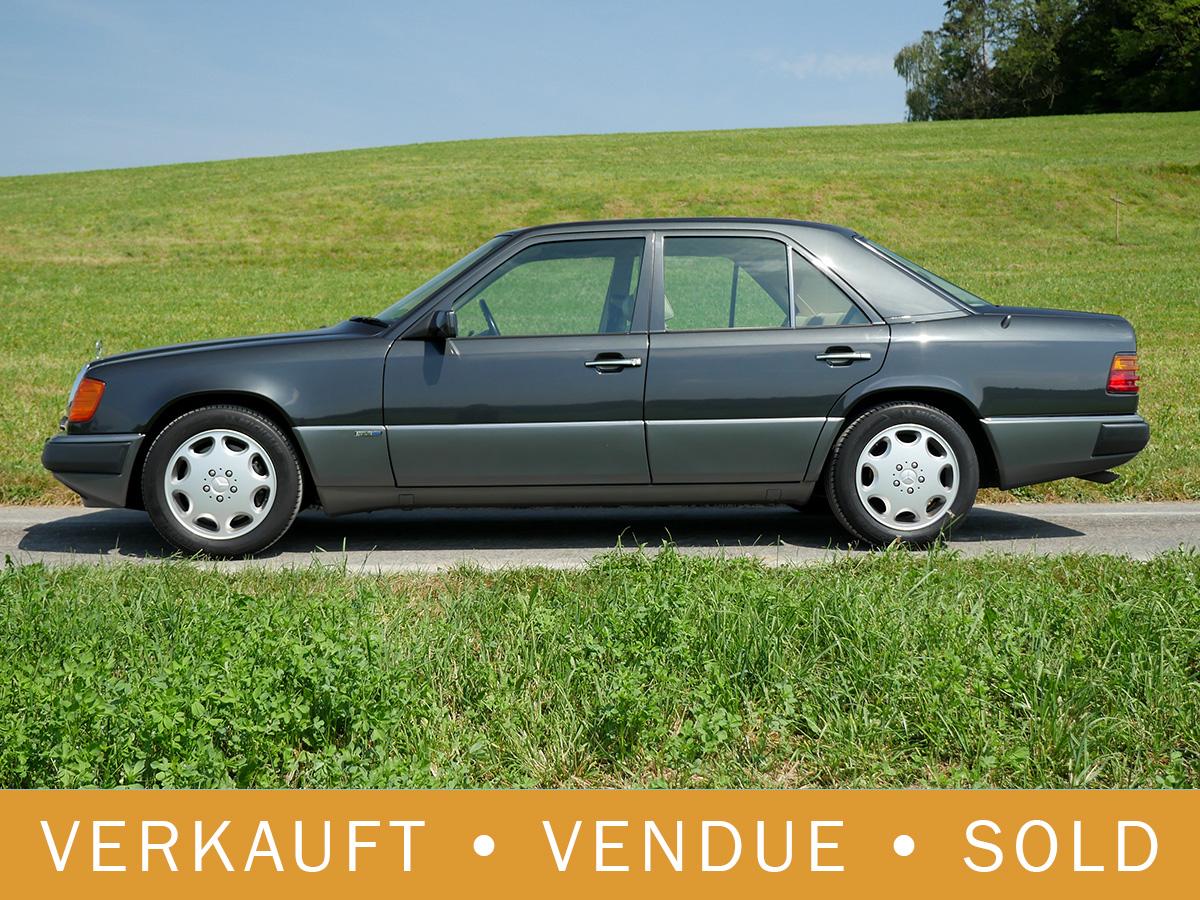 Mercedes Benz 400 E V8 schwarz 1993
