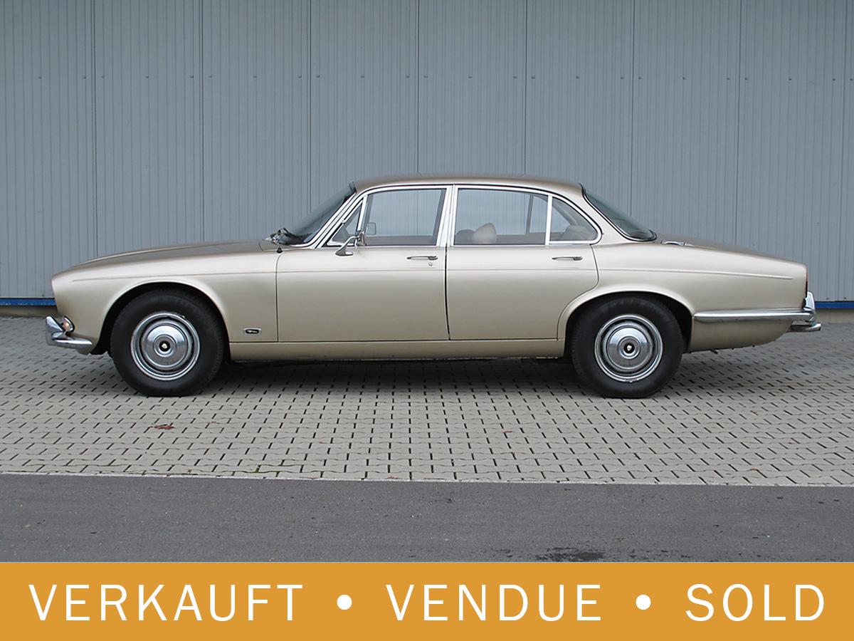 Jaguar XJ6 S1 2.8 Liter manual beige 1969