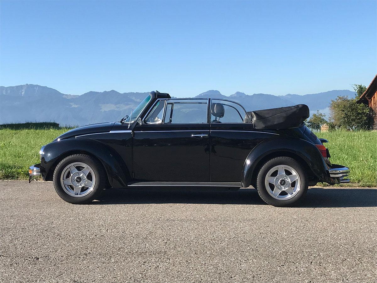 VW Käfer 1303 LS Cabrio Memminger schwarz 1977