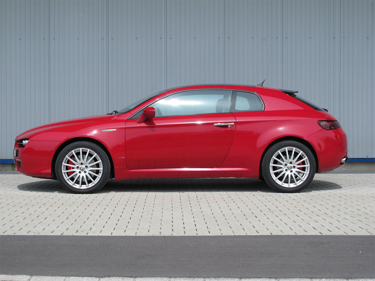 Alfa Romeo Brera 3.2 JTS Q4 Coupé manual rot 2006