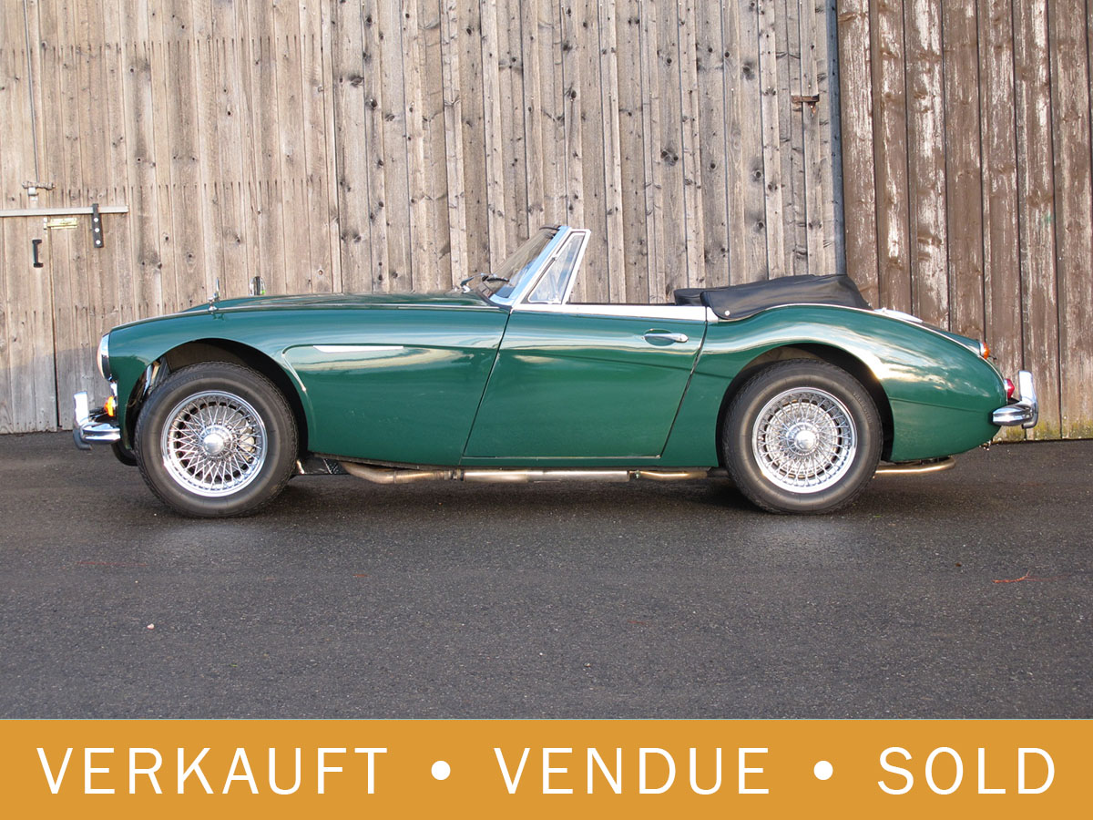 Austin-Healey 3000 MK III dunkelgrün 1965