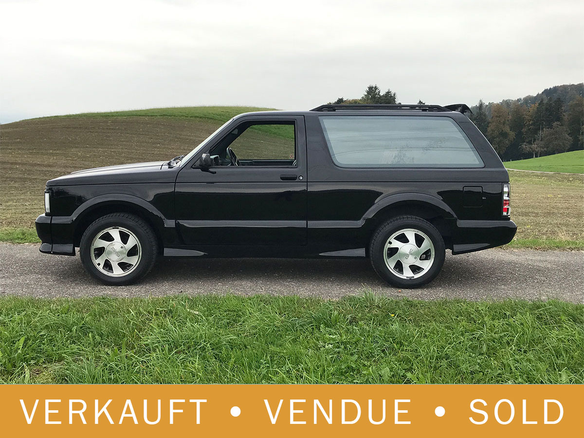 GMC Typhoon V6 Turbo Allrad schwarz 1993