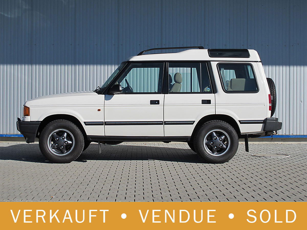 Land Rover Discovery 3.9i V8 weiss 1998