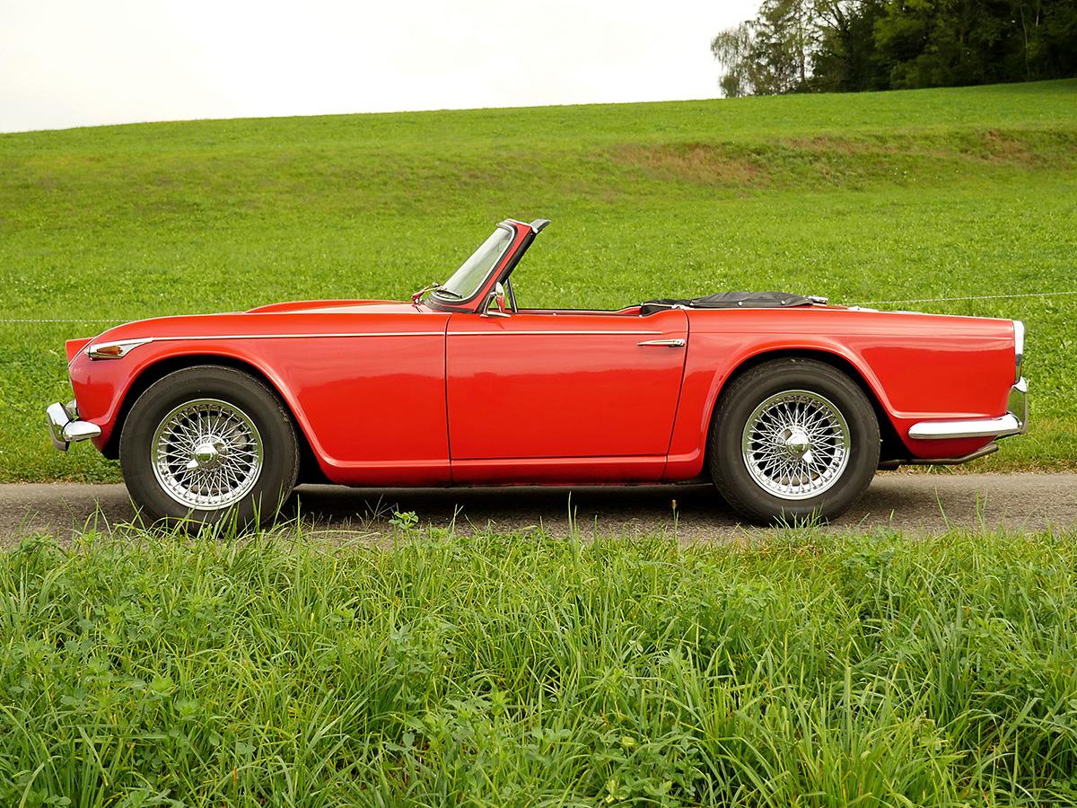Triumph TR4A IRS rot 1968