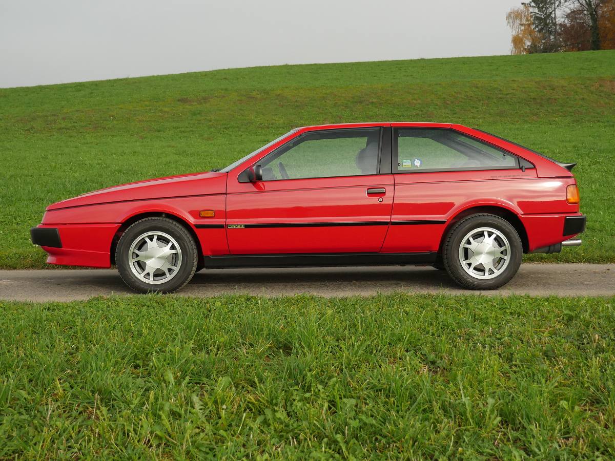 Isuzu Piazza turbo Coupé rot 1990