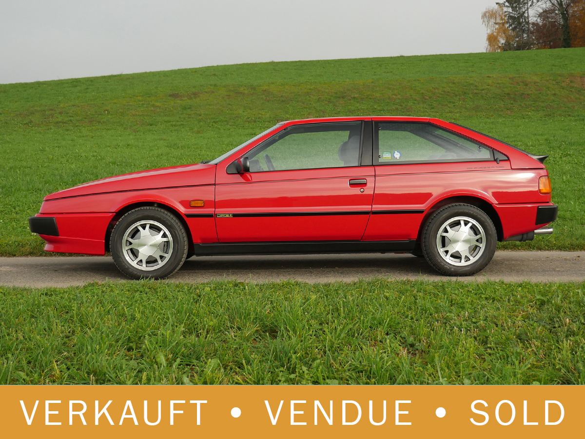 Isuzu Piazza turbo Coupé rot 1990