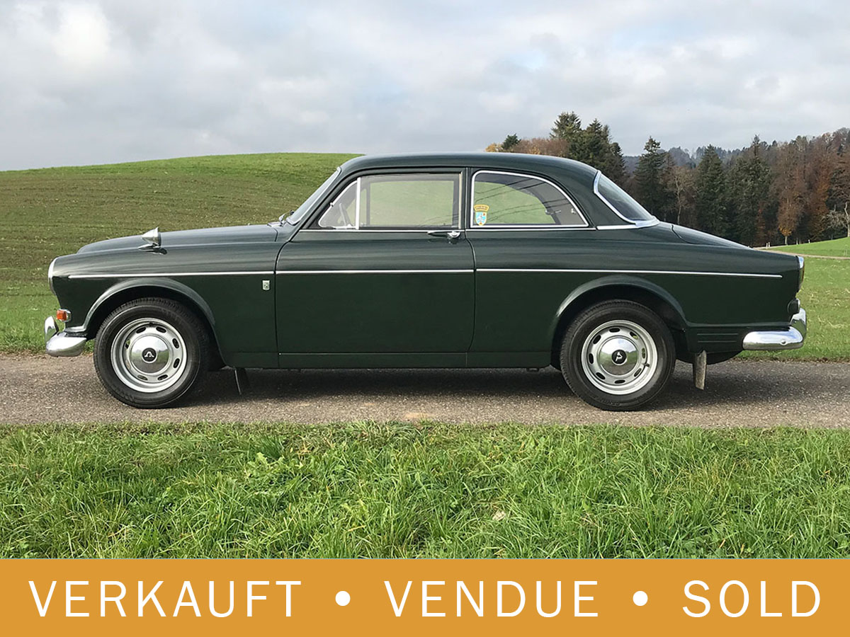Volvo 121 Amazon B20 dunkelgrün 1969
