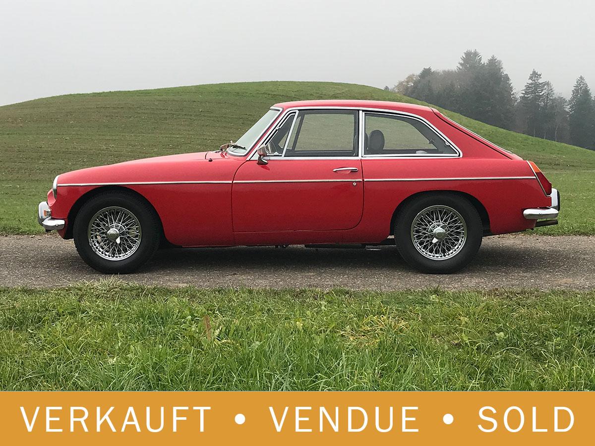 MG B GT Coupé MK II rot 1970