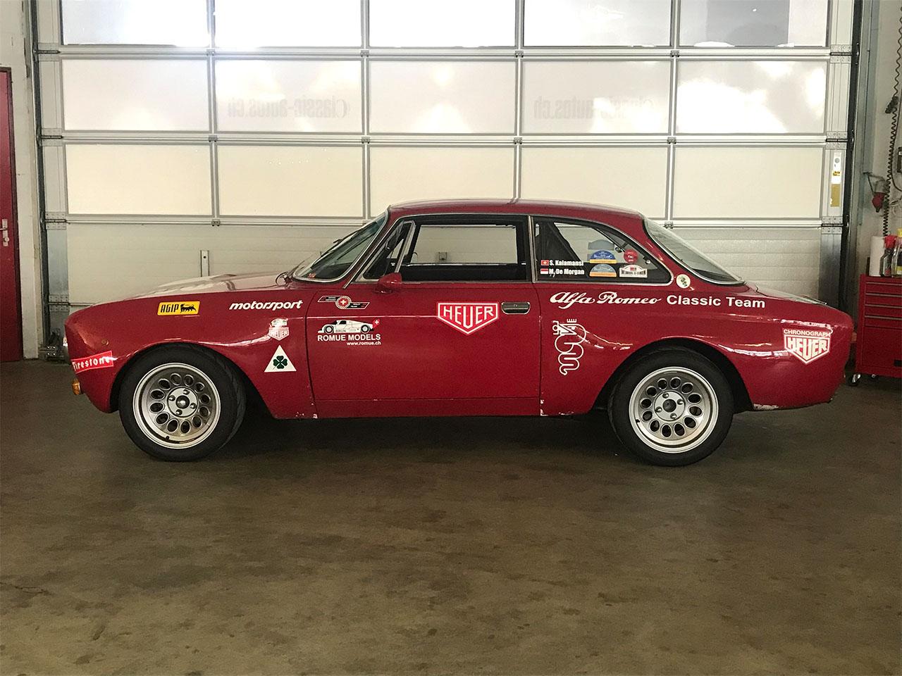 Alfa Romeo 1750 GTAm rot 1971