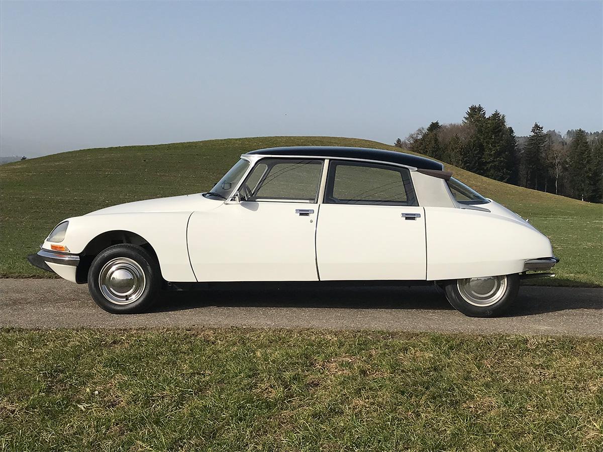 Citroen D Super Limousine weiss 1973