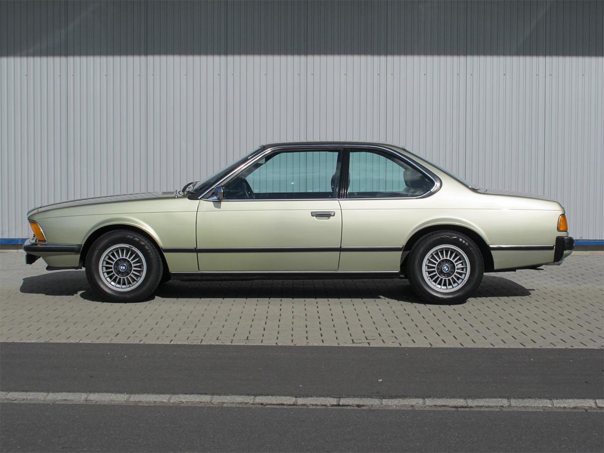 BMW 633 CSi Coupé Resedagrün 1977