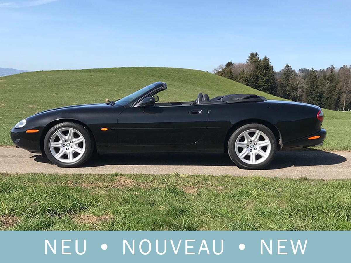 Jaguar XK8 4.0 Cabriolet schwarz 1997