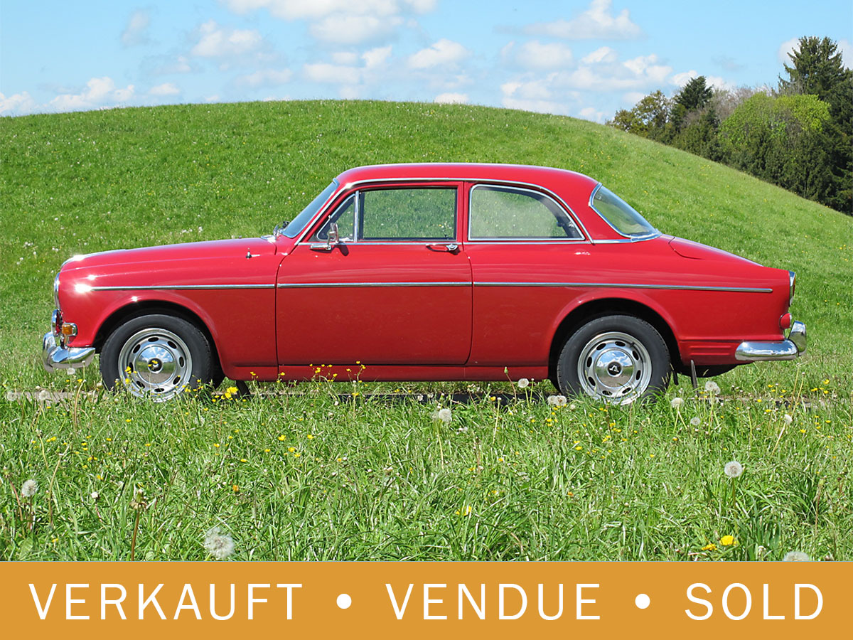 Volvo 121 Amazon B18 rot 1968