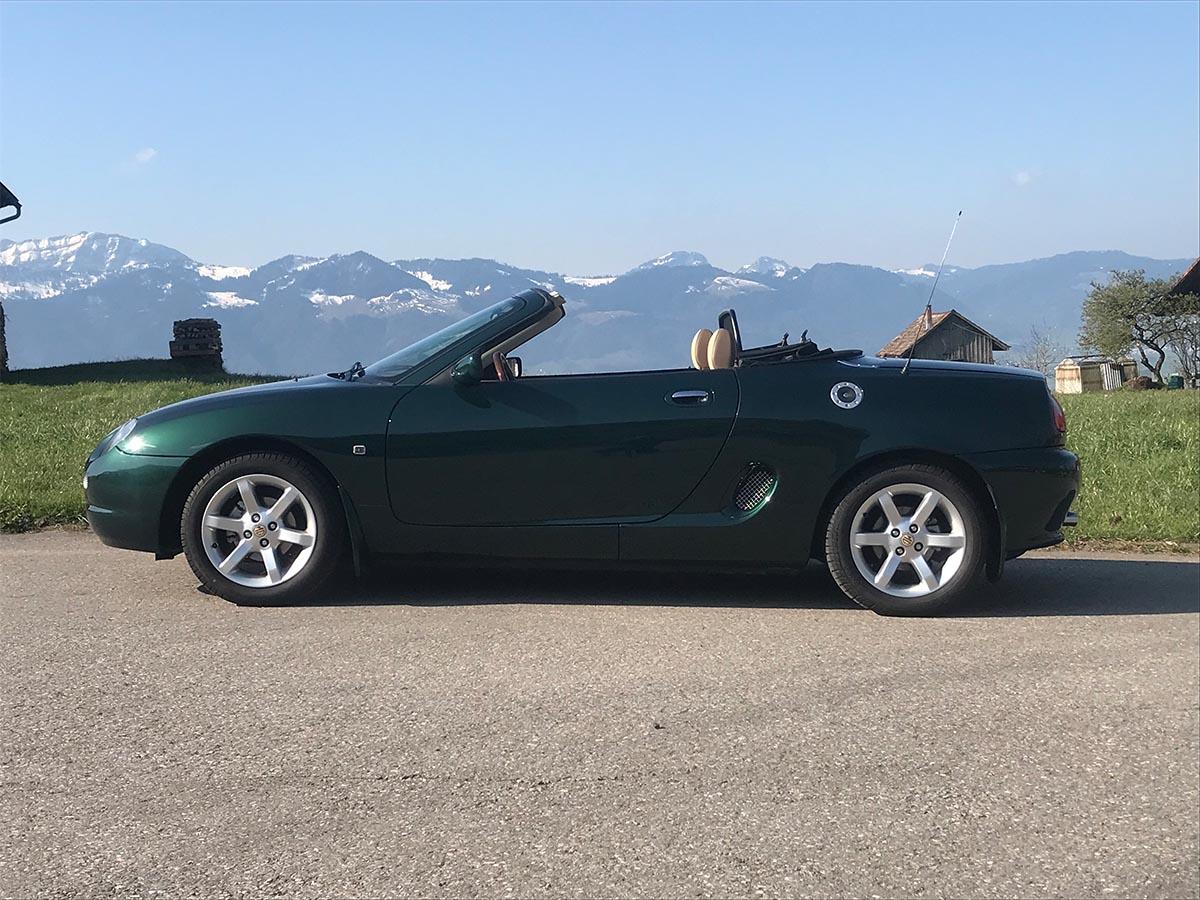 MG F Cabriolet Steptronic dunkelgrün 2001