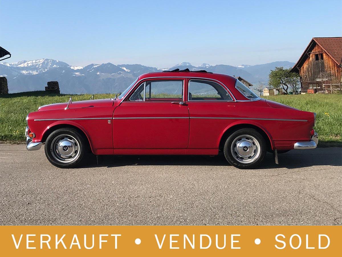 Volvo 123 GT Amazon Coupé Faltdach rot 1967