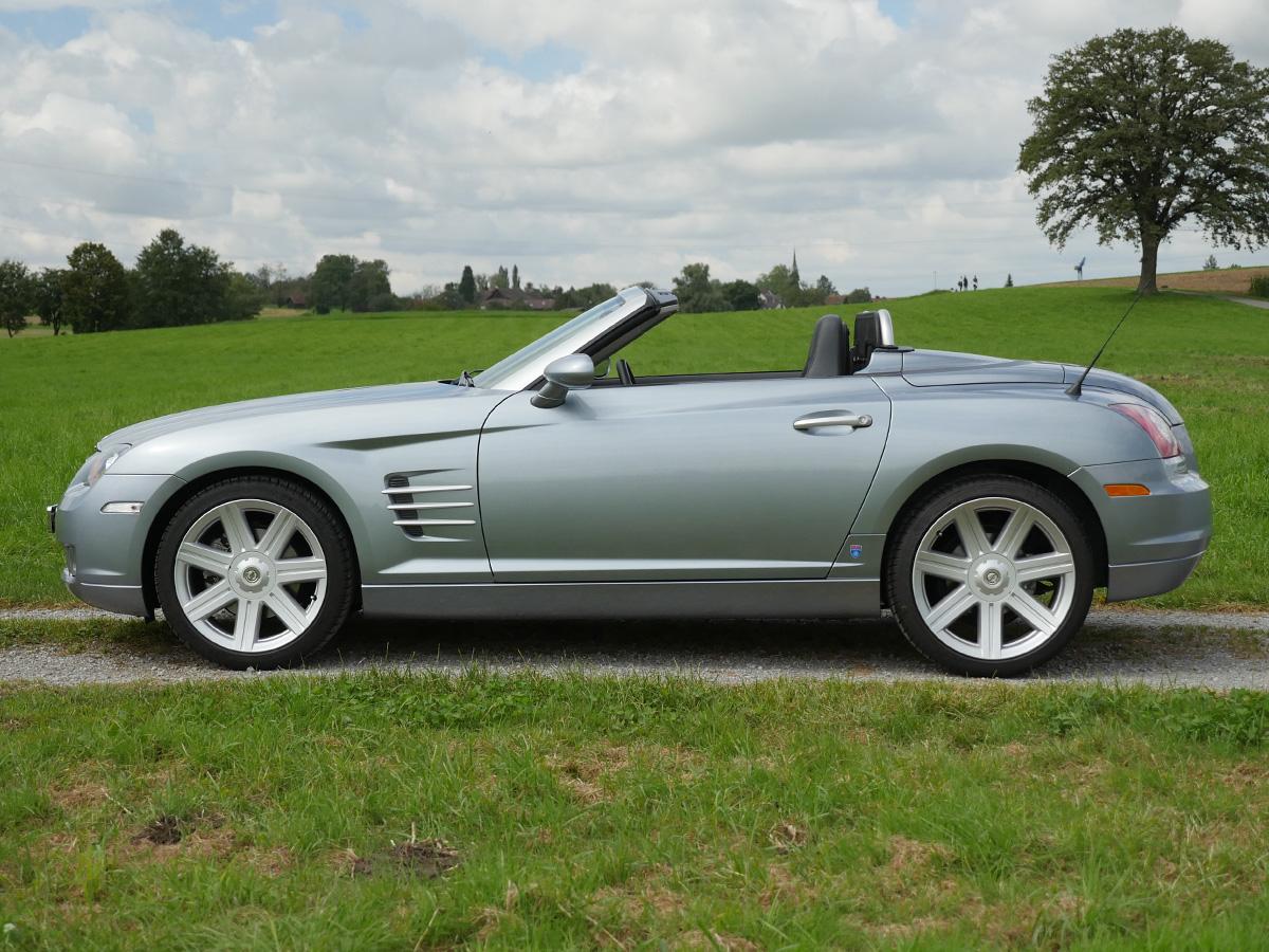 Chrysler Crossfire 3.2 V6 Roadster silber metallic 2007