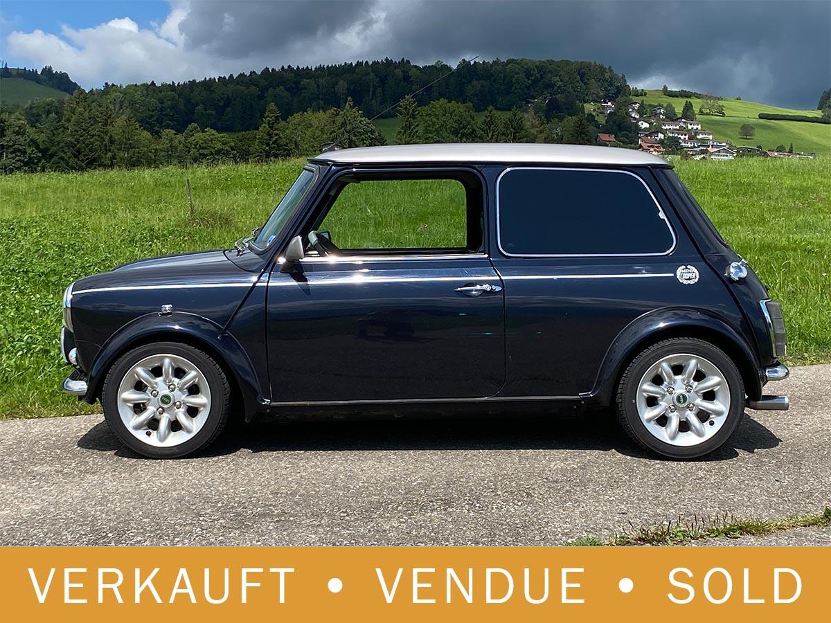 Mini Cooper 1.3i Sport SWISS FINAL EDITION blau 2000