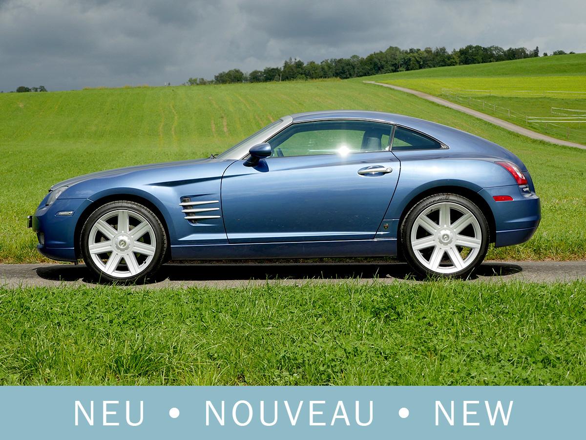 Chrysler Crossfire 3.2 Coupé blau metallic 2007