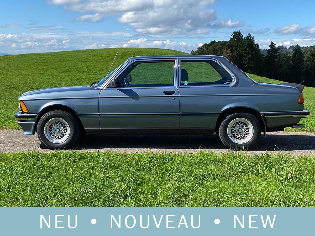 BMW 320/6 E21 Coupé nauticblau 1982