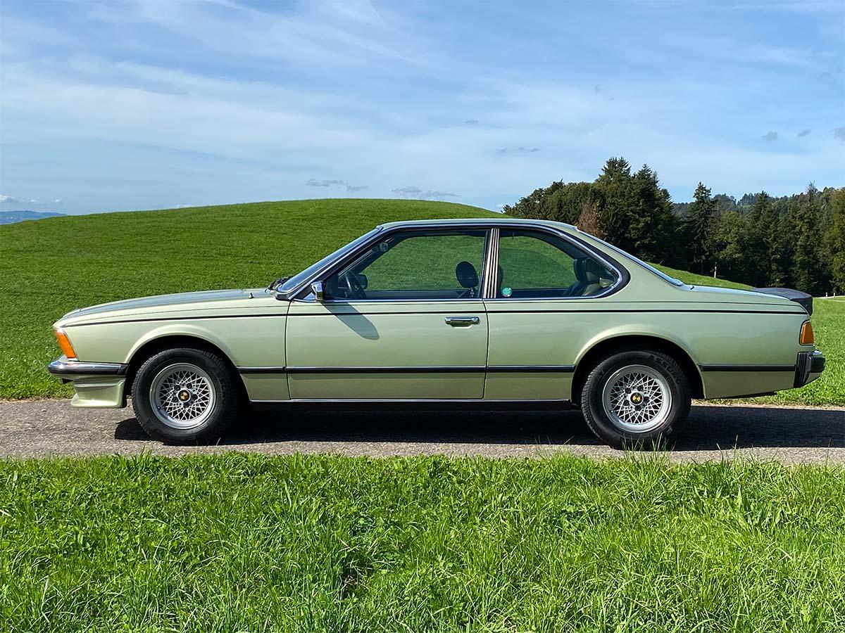 BMW 633 CSi Coupé Resedagrün 1978