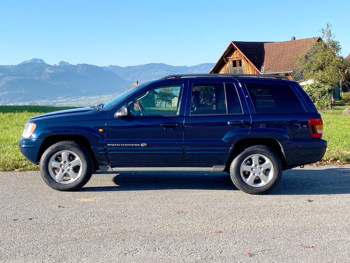 Jeep Grand Cherokee 4.7 Liter Overland blau 2005