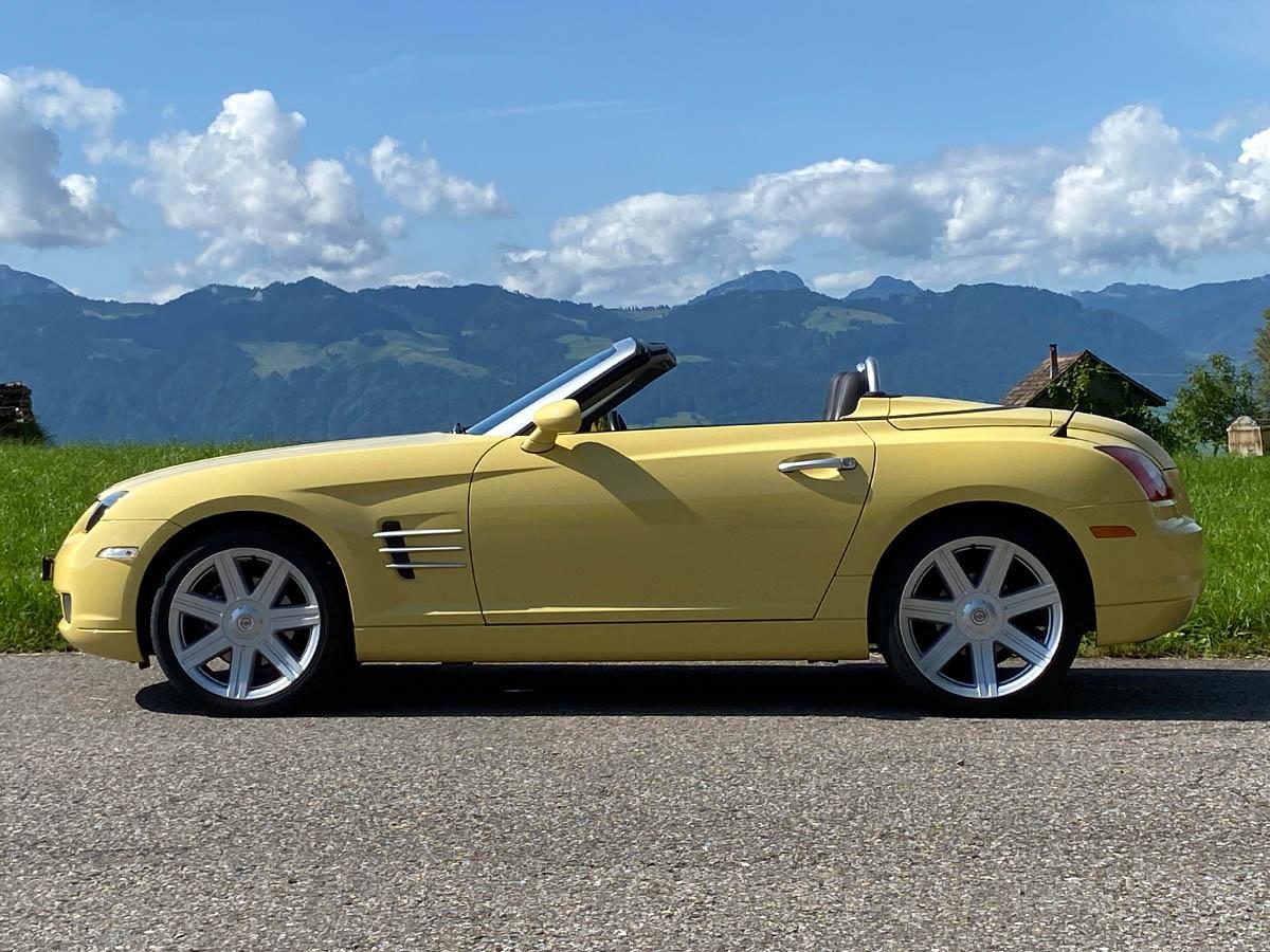 chrysler crossfire 3-2 v6 roadster gelb 2005 0000 IMG 1