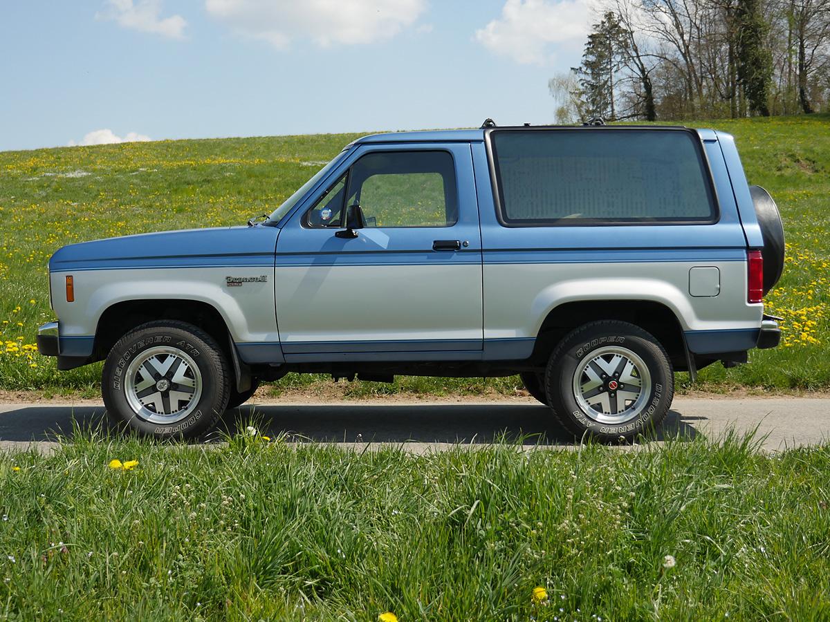 ford bronco ii xlt blau silber 1989 0000 1